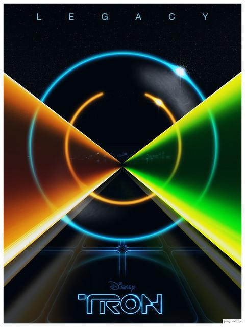 TRON Legacy Poster by jmgarrido.net