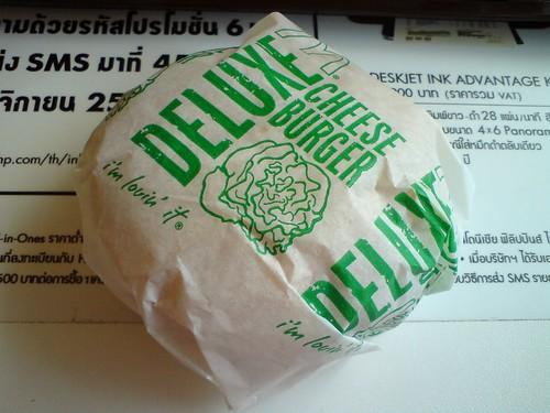 豪華起司漢堡Deluxe Cheese BurgerDSC01601