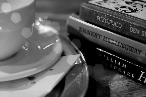 Coffee and books.