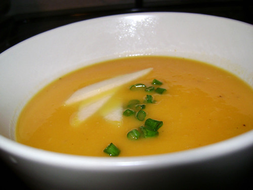 Ginger, Pear & Sweet Potato Soup