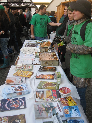 the vegan society & council house stalls