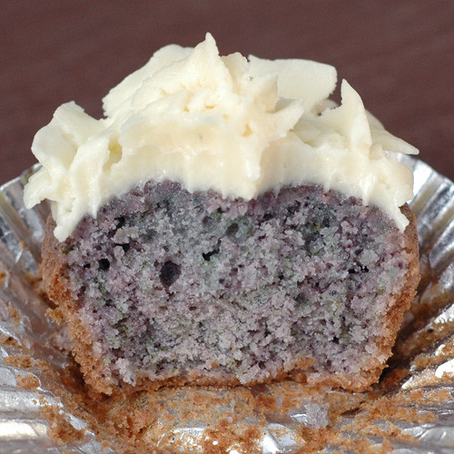 Blueberry Cupcakes «