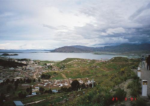 Approaching Puno, Peru