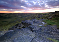 Buckstones (Charlotte Brett Photography) Tags: sunset rock yorkshire edge moor gritstone marsden saddleworth buckstones