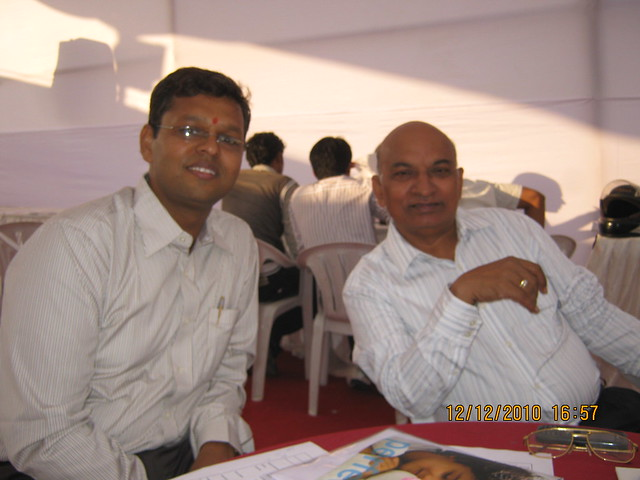 Mr. Narendrabhai Agarwal and Mr. Peddawad, developers of Shonest Towers Wakad Pune 411 027