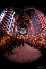 Sainte Chapelle from Paris-51 (christian_jacquet) Tags: paris france church louis king catholic religion gothic 9 stainedglass saintlouis blanche gothique chapelle saintechapelle roi 1242 architecte vitraux moyenage castille catholique architec 1248 pierredemontreuil royaute middleadge windowscarlzeiss