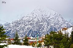 Con la cabeza en las nubes (JFC.7) Tags: winter mountain snow ski france alps alpes french cool nikon nieve peak pico invierno montaa francia pista frio montaas nevado fernandez lesdeuxalpes josua skislope esquiar d5000 jcf7 jfc7