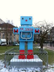 Mr Snow at Edinburgh's St Andrews Square