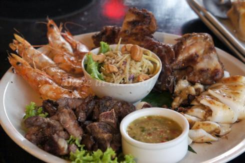 Thai BBQ Combo (RM40)