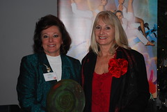 Award Recipient: Jane Patton, past president of Polk Arts Alliance