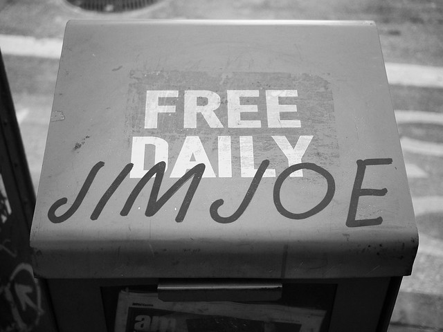 Jim Joe over Free Daily #walkingtoworktoday