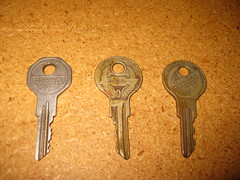 Jeep, Chevrolet, and Studebaker Keys (EGSalms) Tags: chevrolet car keys photo key day jeep junior studebaker yale briggs facebook stratton strattec