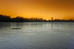 Sodium On Ice (Bury Lake), Rickmansworth (flatworldsedge) Tags: longexposure lake ice silhouette night photoshop frozen bury frost grain driftwood desaturation sodium hertfordshire rickmansworth aquadrome explored tripodonice yahoo:yourpictures=weather yahoo:yourpictures=winter yahoo:yourpictures=winterv2