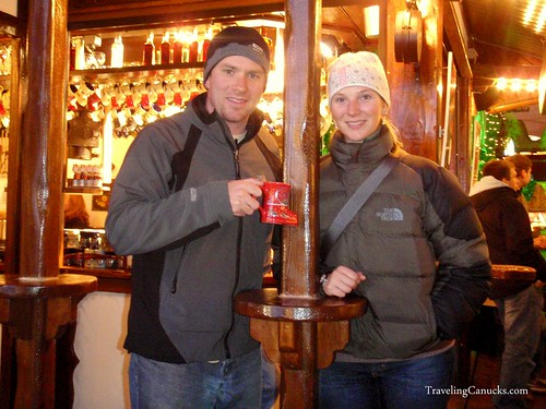 Hot Gluhwein at Christmas Market - Berlin, Germany
