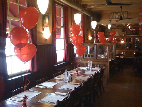 Tafeldecoratie 3ballonnen Diggels Barendrecht