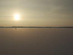 Schaatsers Paterswoldse meer