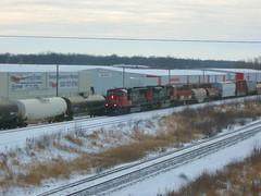 CN 5785 as A447 on Dixie (Wide Cab) Tags: cn canadiannational neenahwi a447 dixiecontrolledsiding