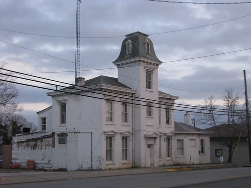 Old Jail of Bath County, Owingsville, Ky.
