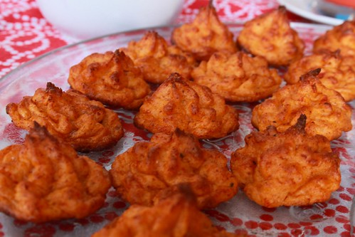 Simil patate duchesse ai pomodorini secchi