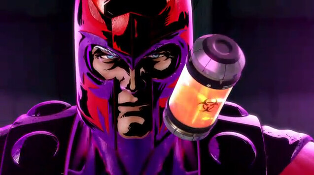 Marvel vs Capcom 3 Fate of Two Worlds Magneto with the T-Virus