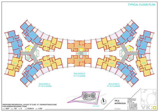 Nanadan Euphora Floor Plan  Vishrantwadi Pune15