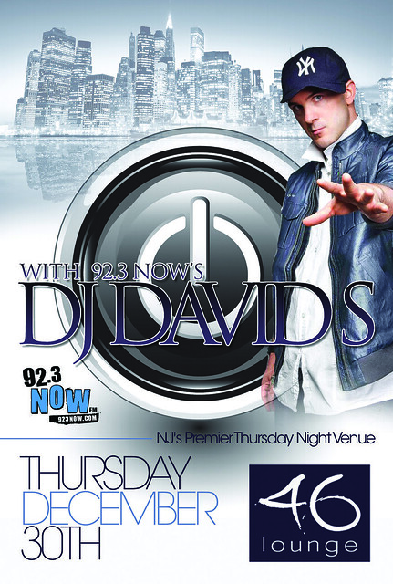 club flyers - printing - 46 lounge - totowa - new jersey - www.46lounge