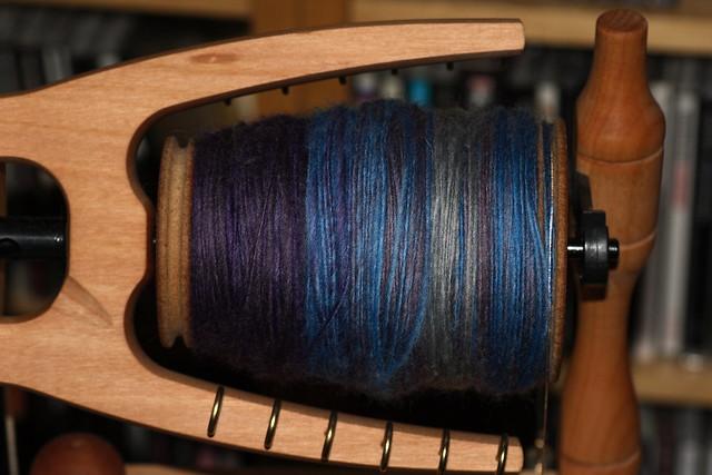 Håndspunnet BFL - The Thylacine, farge Cremorne IMG_3727