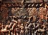 Relief of Banteay Srei Temple Siem Reap - Siem Reap - Cambodia (Benjamin Wießner aka kleiner hobbit) Tags: world elephant heritage lady temple monkey cambodia kambodscha khmer culture relief siem reap elephants angkor wat fassade tempel banteay srei fane sonyalphaa300