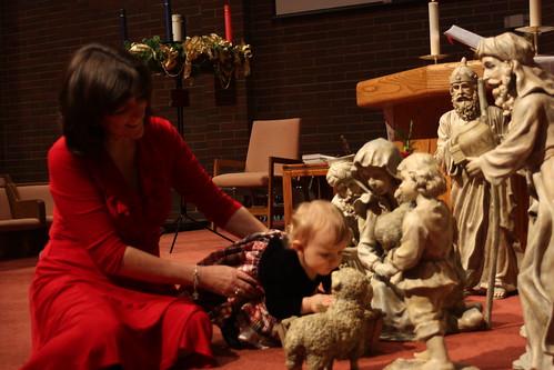 Nativity Kissing