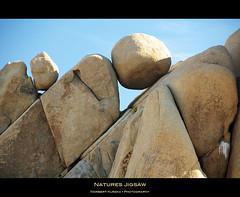 natures jigsaw (hirngespinste) Tags: california park blue sky usa brown rock joshuatree national jigsaw nikond90 afsvrnikkor18200mm13556ged
