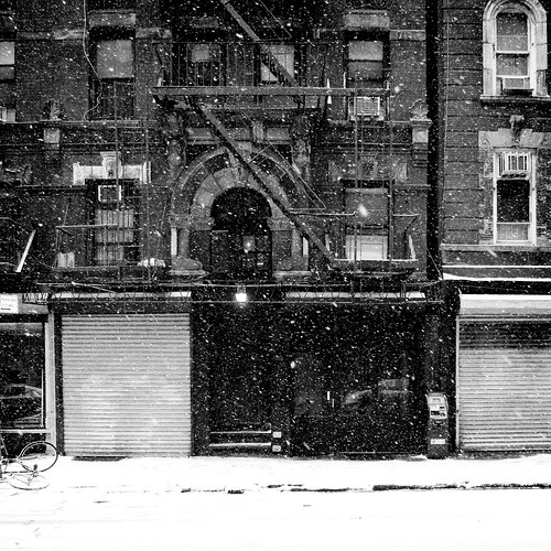 Broome Street in the Snow (I)