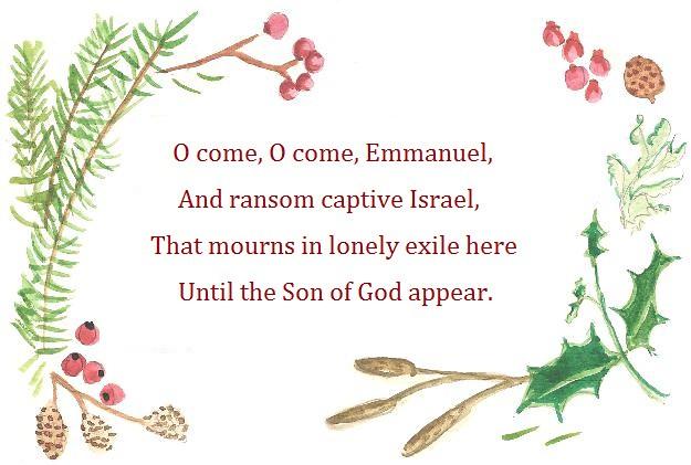 O come Emmanuel text