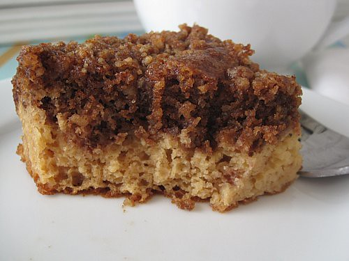 Coffee Cake with Crumble Topping