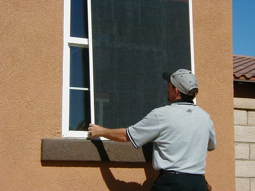 Energy Efficient Window Screens by Screenmobile