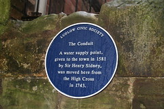 Photo of Henry Sidney blue plaque