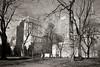 Dorchester Square, Autumn day (blork) Tags: autumn montréal montreal placevillemarie sunlifebuilding dorchestersquare