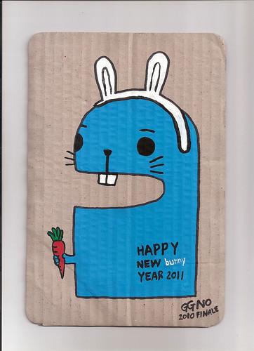 HAPPY NEW BUNNY YEAR.2011