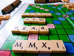 HCS: Happy New Year        (1/365) (~Kyla~) Tags: scrabble scavengerhunt 1365 hcs clichesaturday