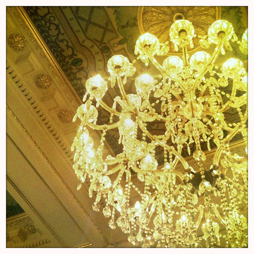 Monteleone Lobby sparkles