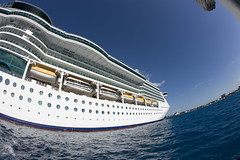 Jewel of the Seas (blueheronco) Tags: caymanislands grandcayman fisheyelense jeweloftheseas