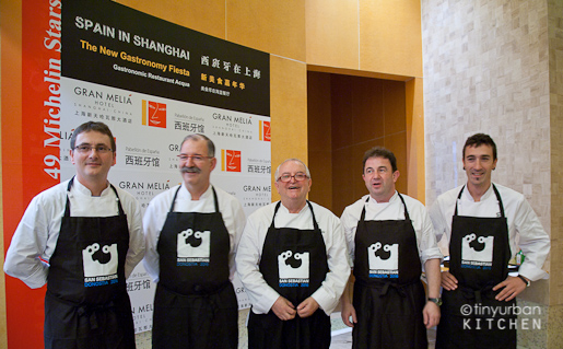 New Gastronomy Fiesta 3-Star Michelin Spanish chefs
