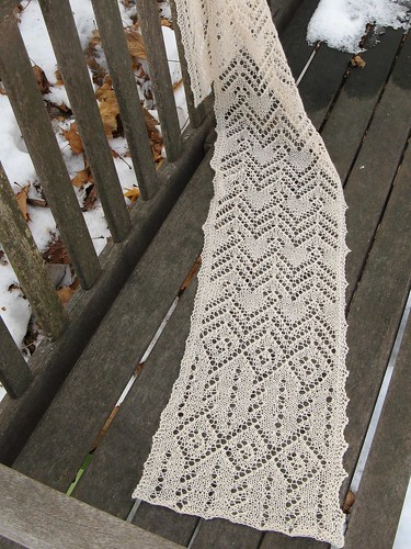 1306 aviator scarf (lace weight)