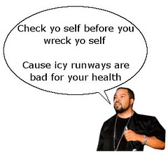 Ice Cube on Heathrow