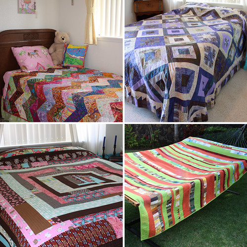 Bed Quilt mosaic 2010