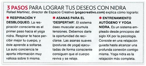 Clases de Yoga Nidra En Madrid, prensa