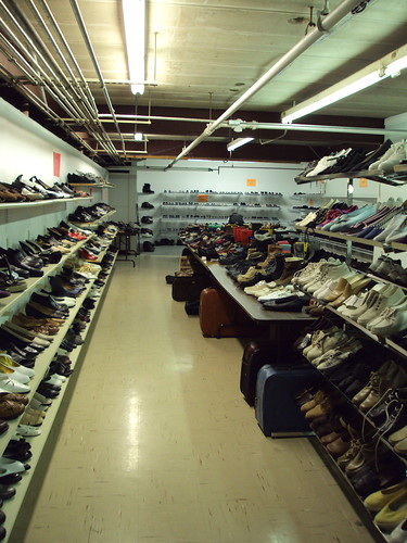 Shoe Basement in Neenah St. Vinnies