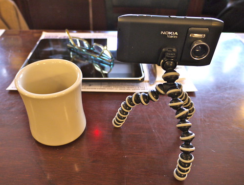 Nokia N8, Joby Gorillapod and photojojo Wide Angle Lens: Boston Media Makers January 2, 2011
