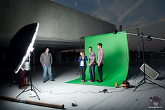 BTS Green Screen (Brian Storey | www.pleaseflash.me) Tags: lighting green beach fuck you flash gear screen location equipment setup fl behind scenes vero bts strobist