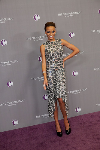 Model Selita Ebanks at The Cosmopolitan Grand Opening and New Year's Eve Celebration