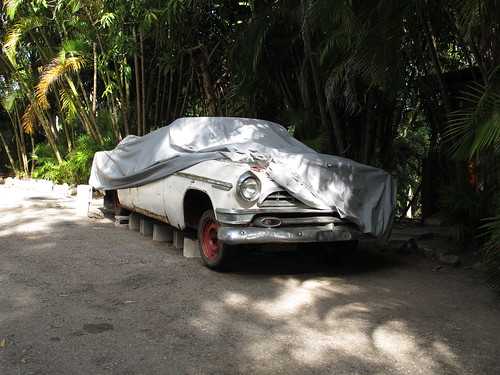 Roadster at Hemingway's Finca la Vigía